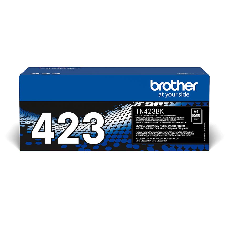 Eredeti Brother TN423BK festékkazetta - fekete