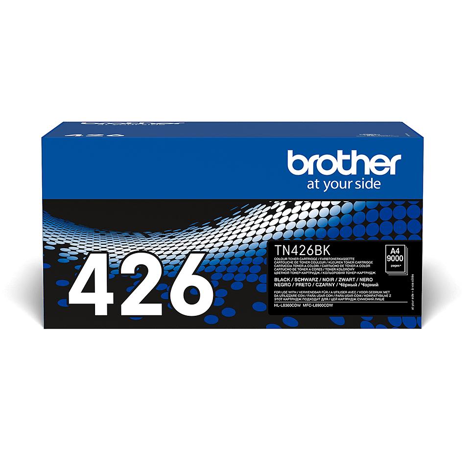 Eredeti Brother TN426BK festékkazetta - fekete 2