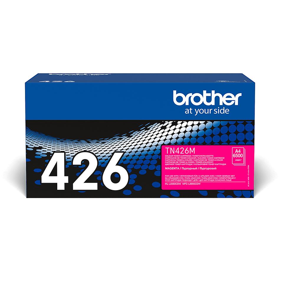 Eredeti Brother TN426M festékkazetta - magenta 2