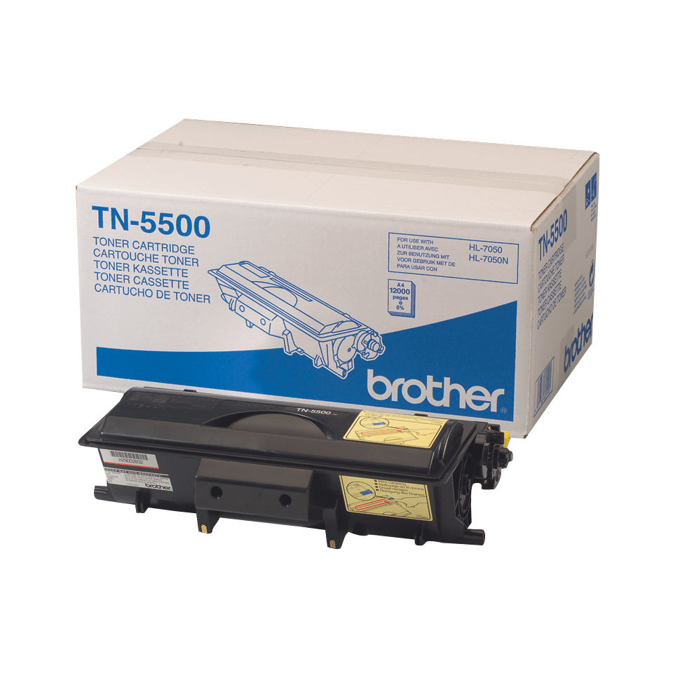 Eredeti Brother TN5500 nagytöltetű festékkazetta - fekete