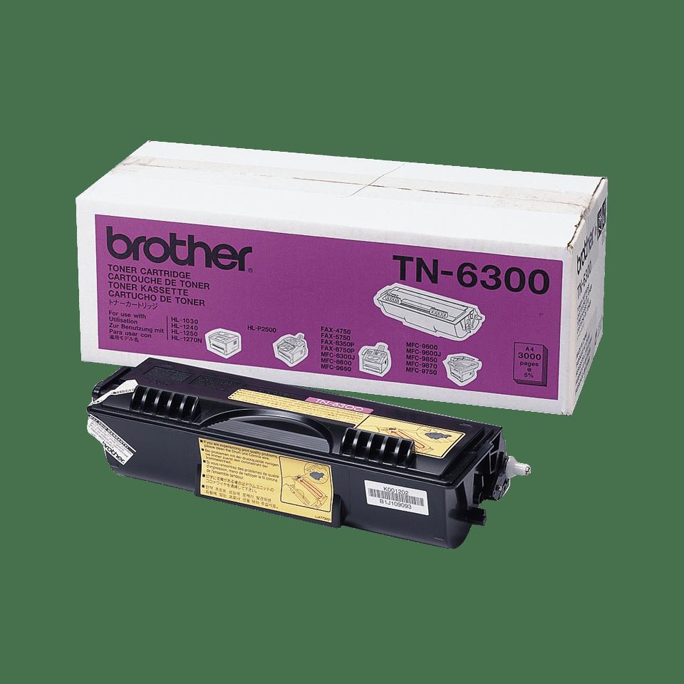Eredeti Brother TN6300 nagytöltetű festékkazetta - fekete