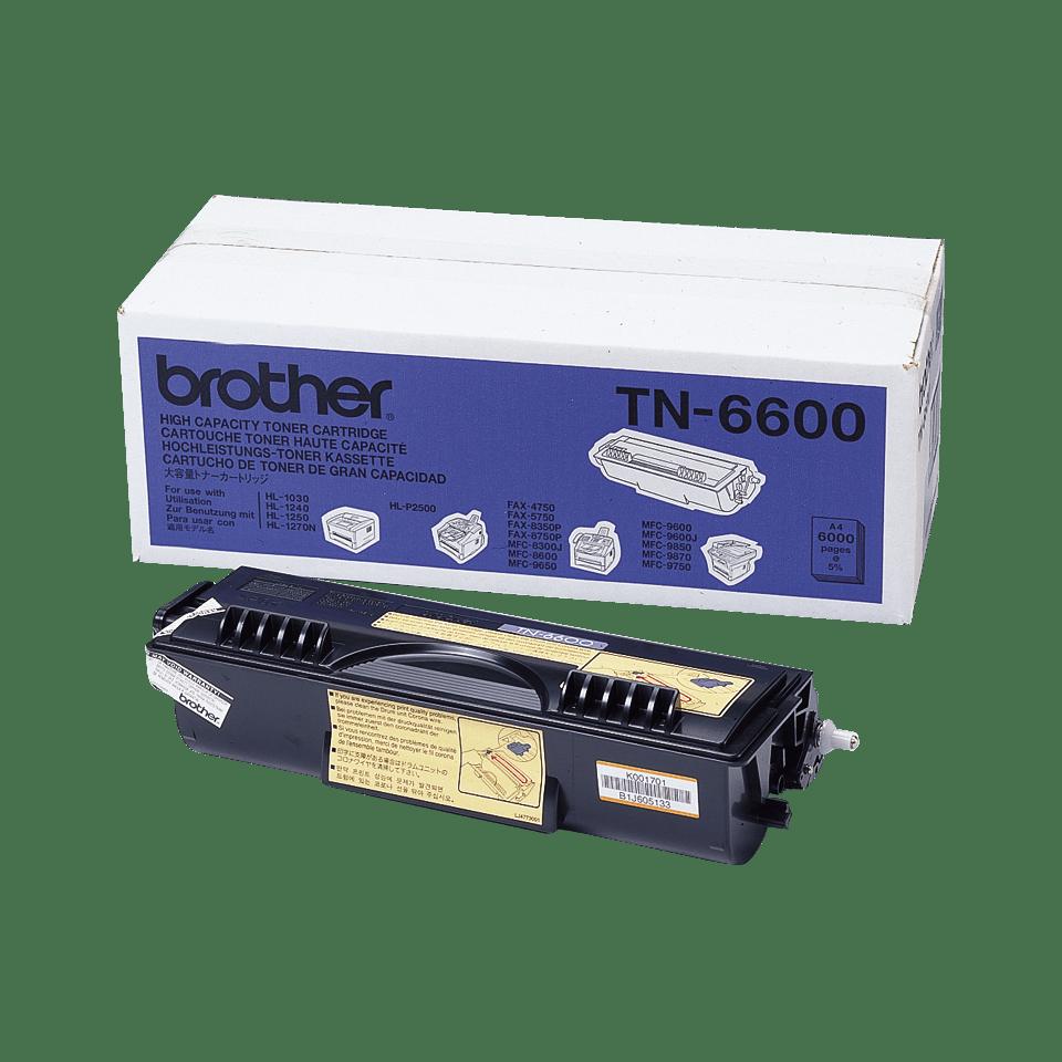 Eredeti Brother TN6600 nagytöltetű festékkazetta - fekete