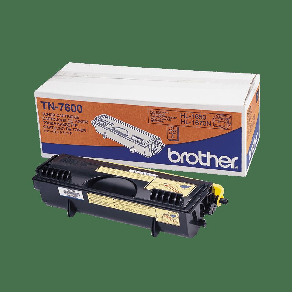 Eredeti Brother TN7600 nagytöltetű festékkazetta - fekete