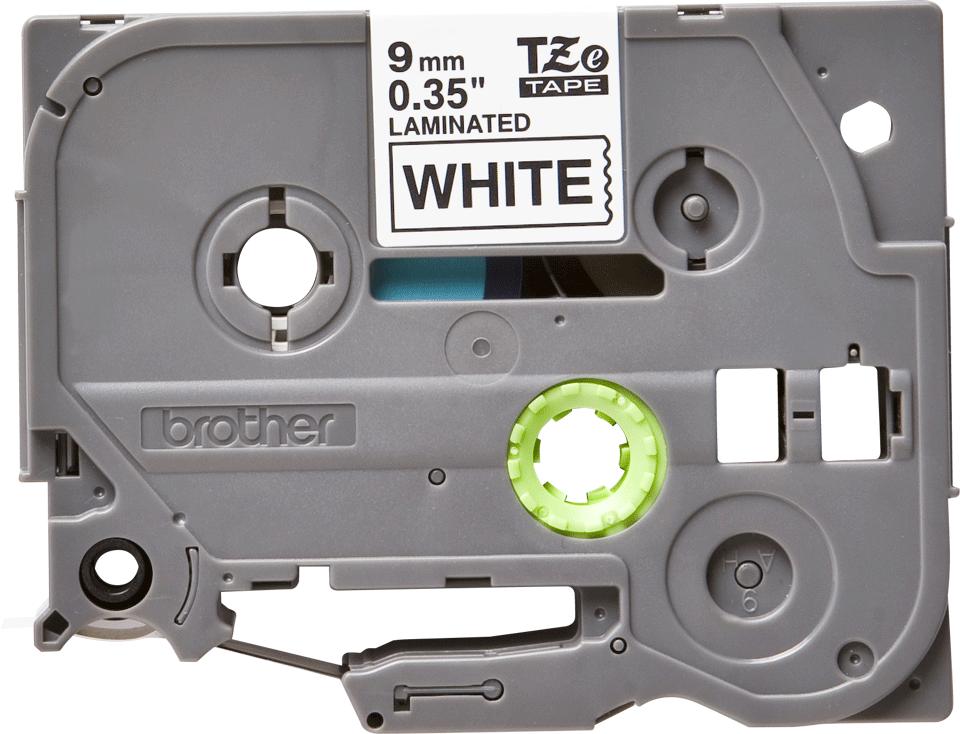 Eredeti Brother TZe-251 laminált szalag – Fehér alapon fekete, 9mm széles