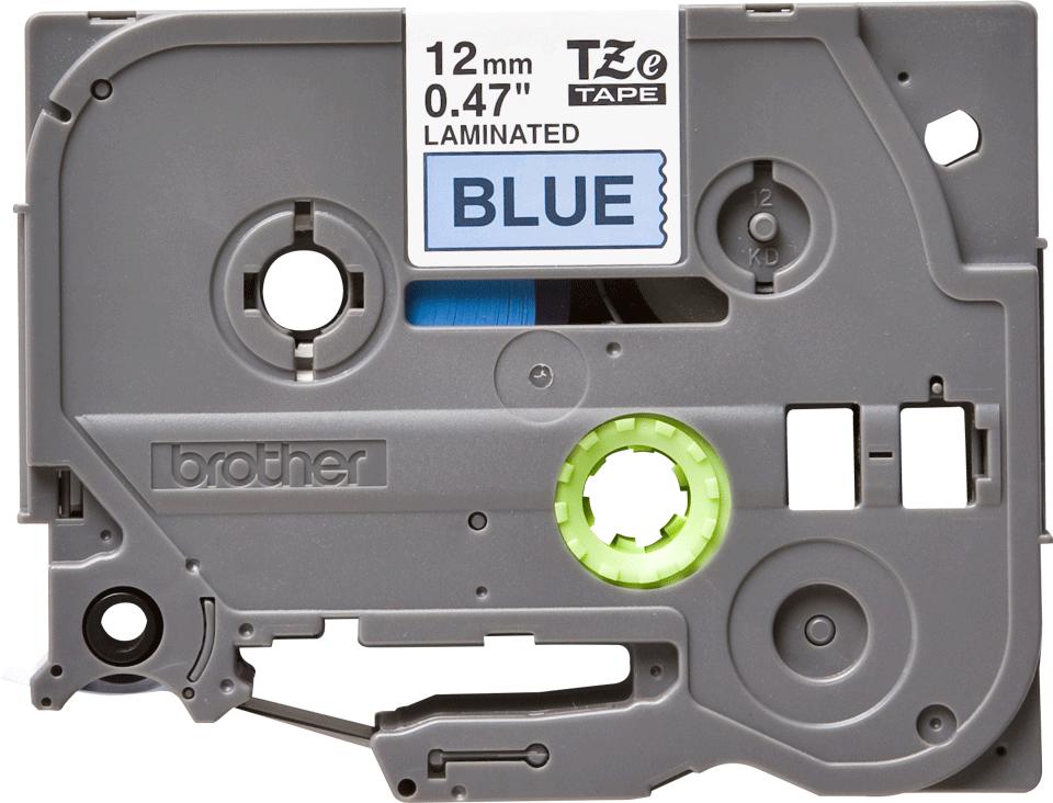 Eredeti Brother TZe-531 szalag – Kék alapon fekete, 12mm széles 2