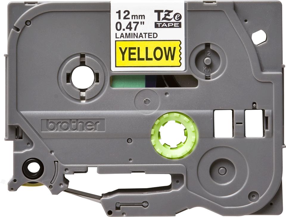 Eredeti Brother TZe-631 szalag – Sárga alapon fekete, 12mm széles