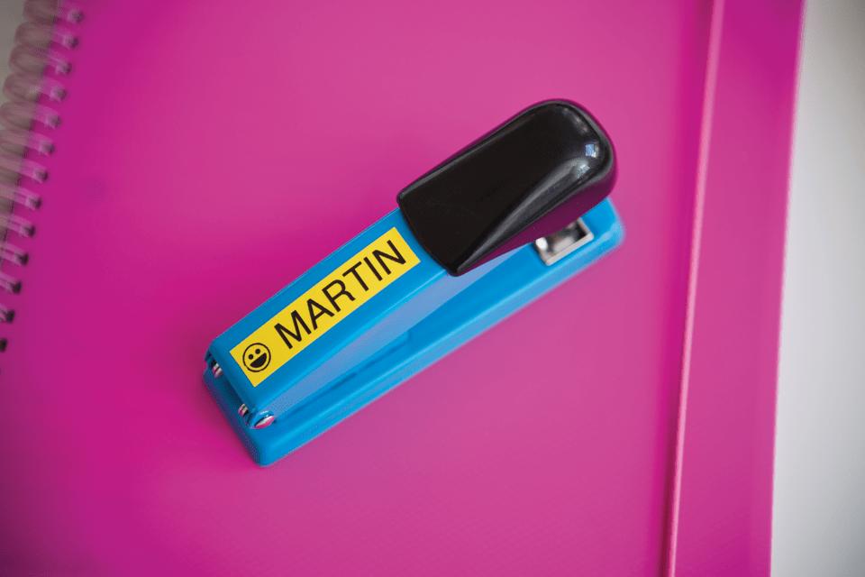 Eredeti Brother TZe-641 szalag – Sárga alapon fekete, 18mm széles 4