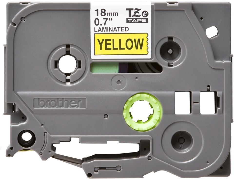 Eredeti Brother TZe-641 szalag – Sárga alapon fekete, 18mm széles