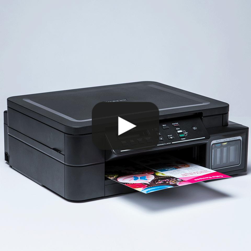 DCP-T310 InkBenefit Plus 3az1-ben színes, tintasugaras készülék a Brother-től 8