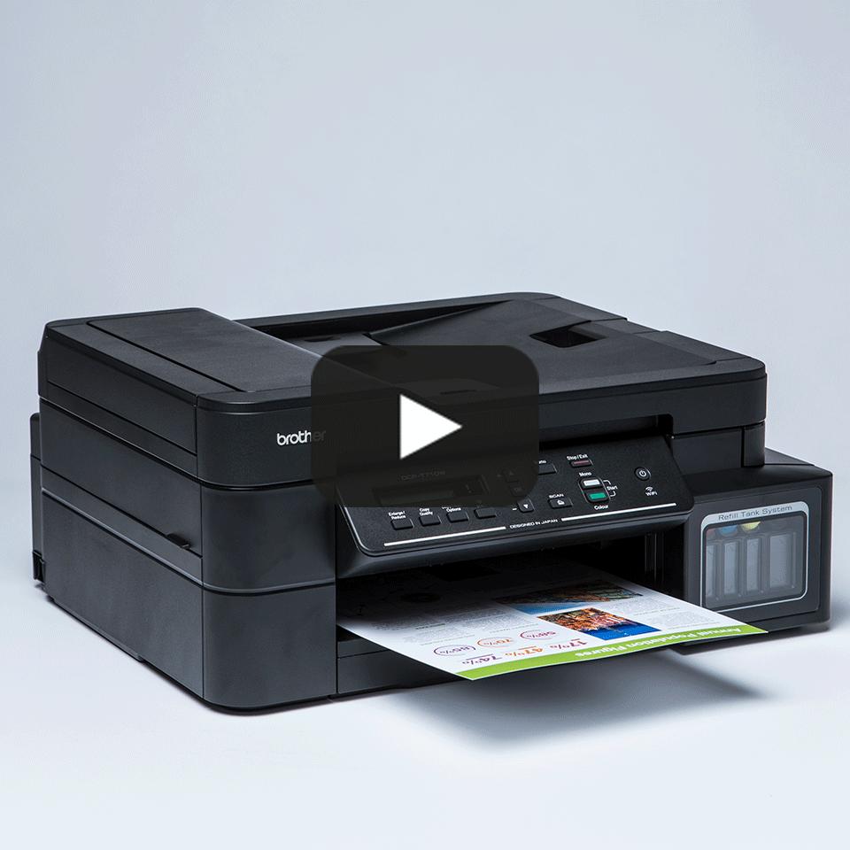 DCP-T710W InkBenefit Plus 3az1-ben színes, wireless, tintasugaras készülék a Brother-től 8