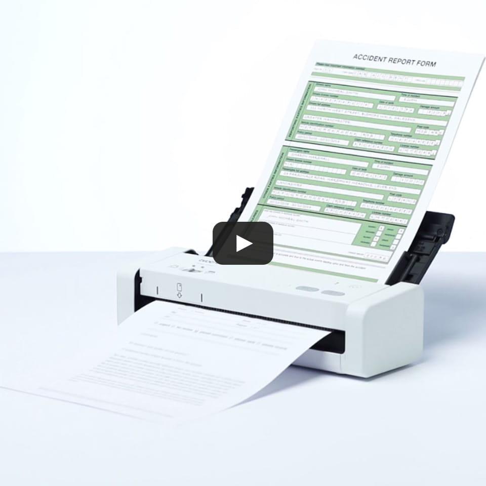 ADS-1200 hordozható, kompakt dokumentum szkenner 9